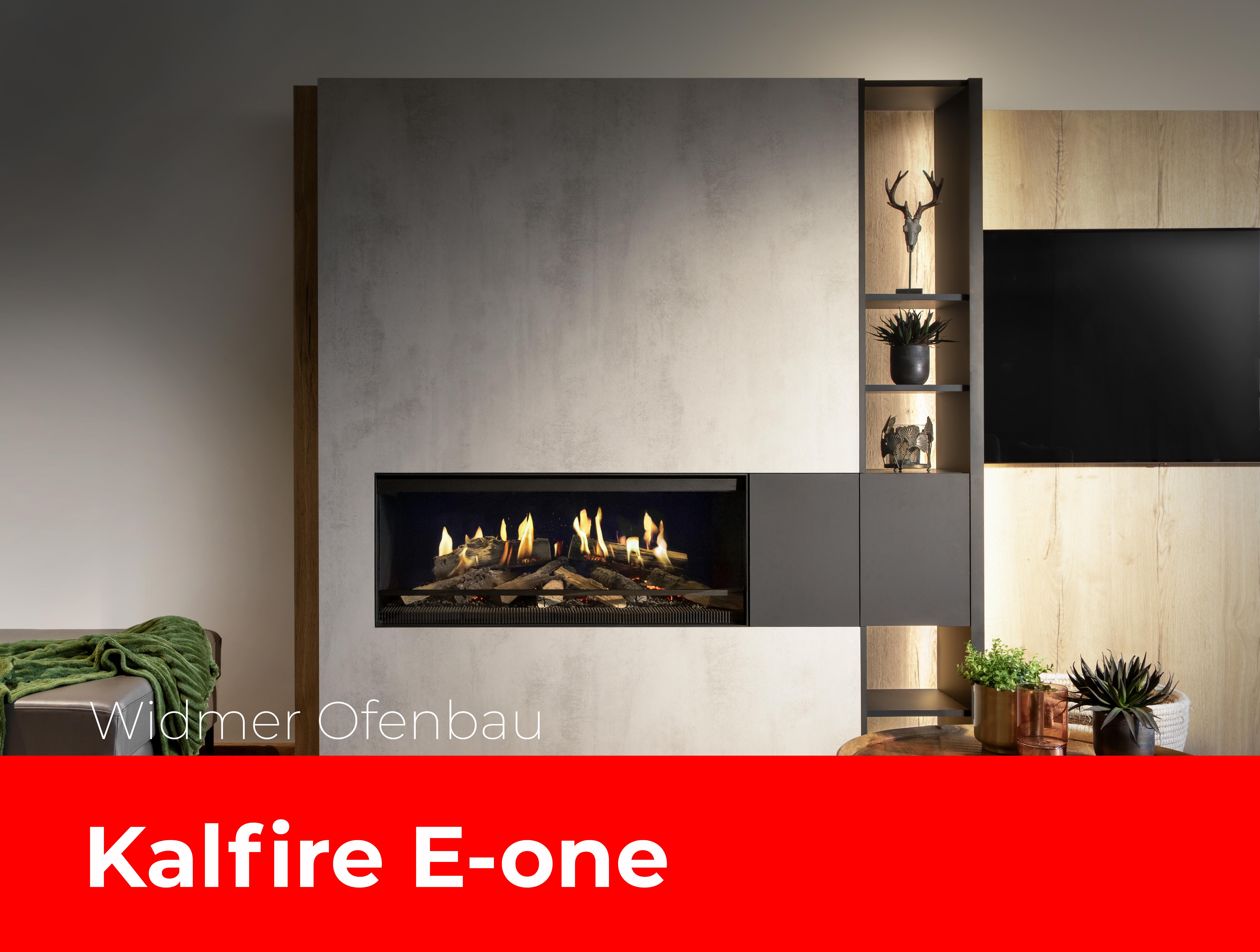 Kalfire e-one F im Wohnzimmer
